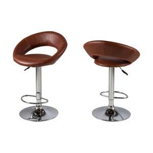 Barová stolička Plump, brandy