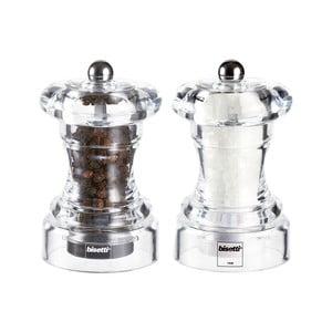 Sada 2 mlynčekov na soľ a korenie Pepper&Salt, 10 cm