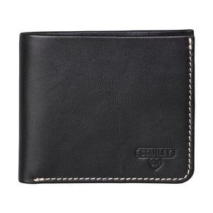 Čierna kožená peňaženka Stanley Tools Bi Fold
