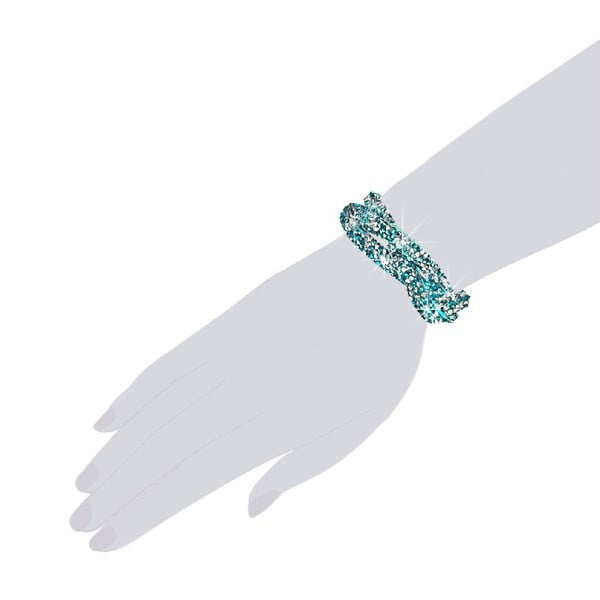 Náramok Turquoise, 19 cm