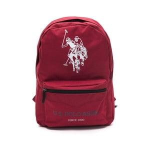 Červený pánsky batoh U.S. Polo Sport, 30 × 44 cm