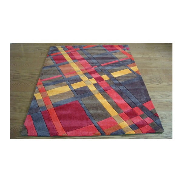 Koberec Plaid Orange, 160x220 cm