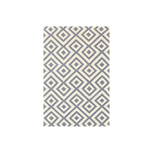 Vlnený koberec Luisa Grey, 180x120 cm