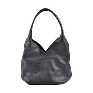 Čierna kožená kabelka Roberta M Rosella
