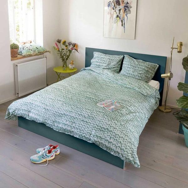 Zelené obliečky Snurk Twirre,140x200cm