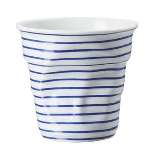 Pohárik  na cappuccino Froisses 18 cl, modré pruhy