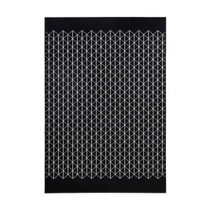 Čierny koberec Hanse Home Twist, 200×290cm