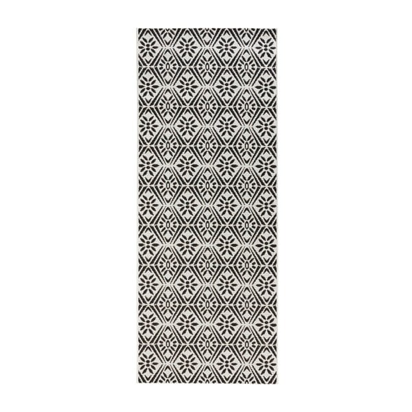 Tmavosivý kuchynský behúň Zala Living Soho, 80×200 cm