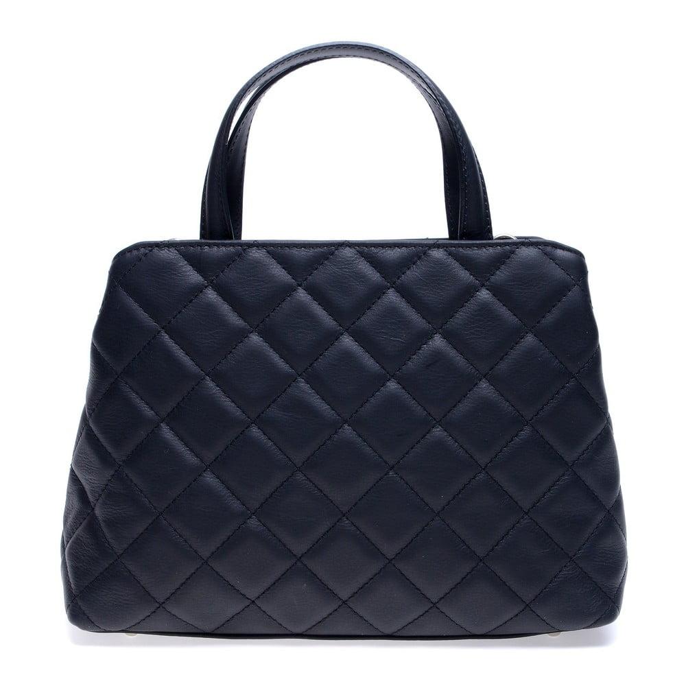 Čierna kožená kabelka Roberta M Allesia