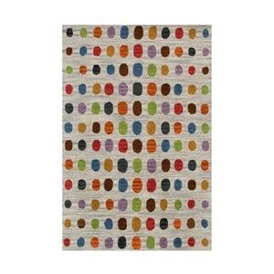 Ručne tuftovaný koberec Bakero Wimbledon Grey, 70 × 140 cm