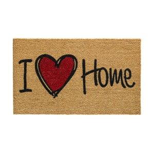 Rohožka Hamat I Love Home Natural, 45 x 75 cm