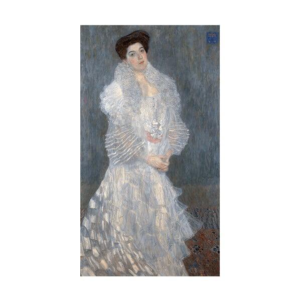 Obraz Gustav Klimt - Portrait of Hermine Gallia, 70x40 cm