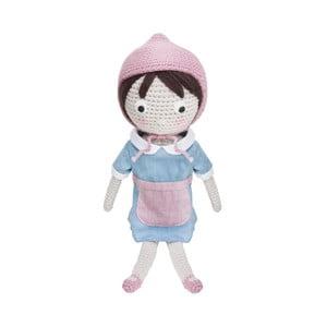 Pletená detská bábika Sebra Crochet Doll Farm Jenny