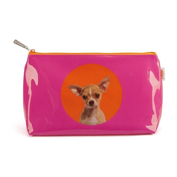 Kozmetická taštička Spot Chihuahua