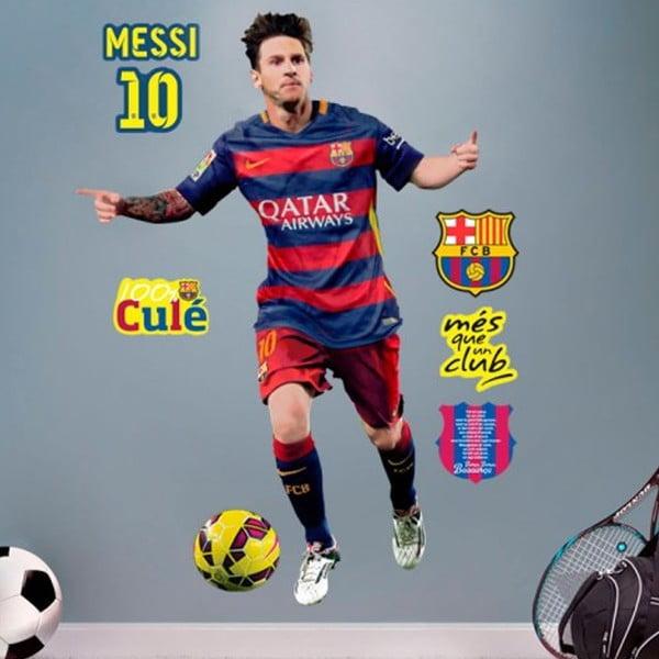 Samolepka FC Barcelone Messi
