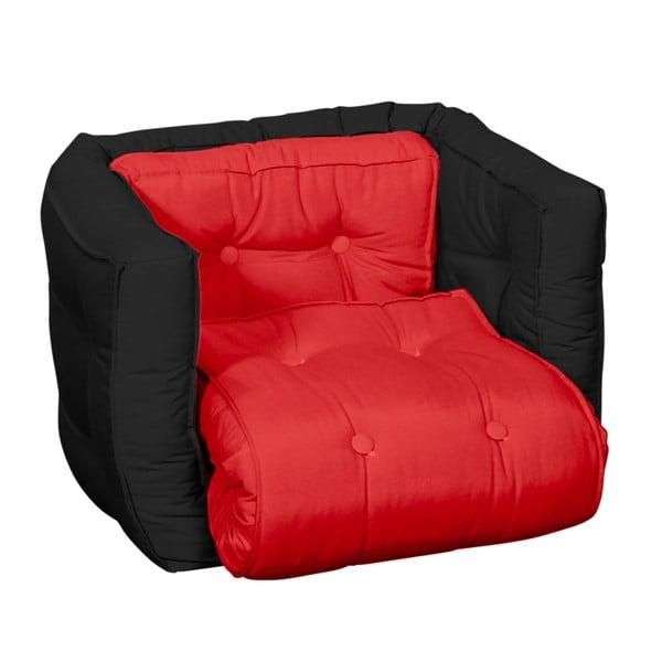 Detské kresielko Karup Baby Dice Red/Black