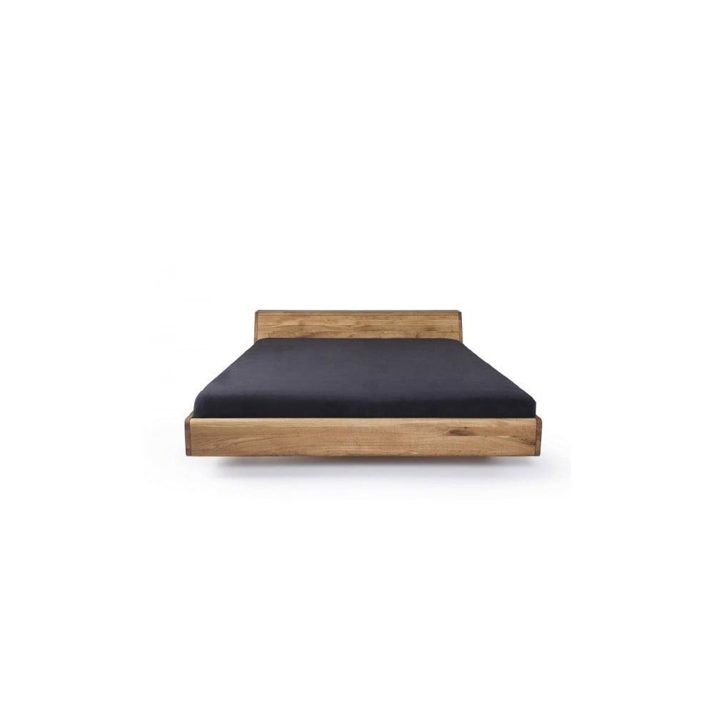 Posteľ z voskovaného dubového dreva Mazzivo Lugo, 120 × 200 cm