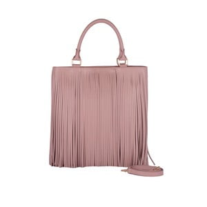 Kožená kabelka Andrea Cardone 2003 Pink