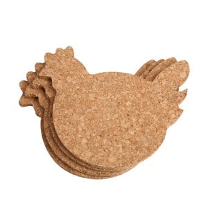 Set 4 podložiek  T&G Woodware Chicken