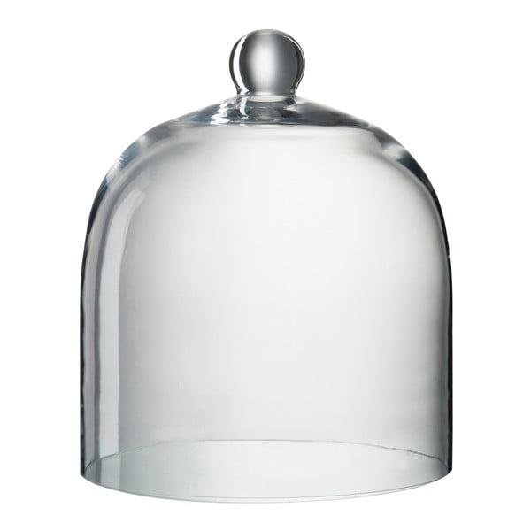 Sklenený dekoratívny poklop Bell, výška 30 cm
