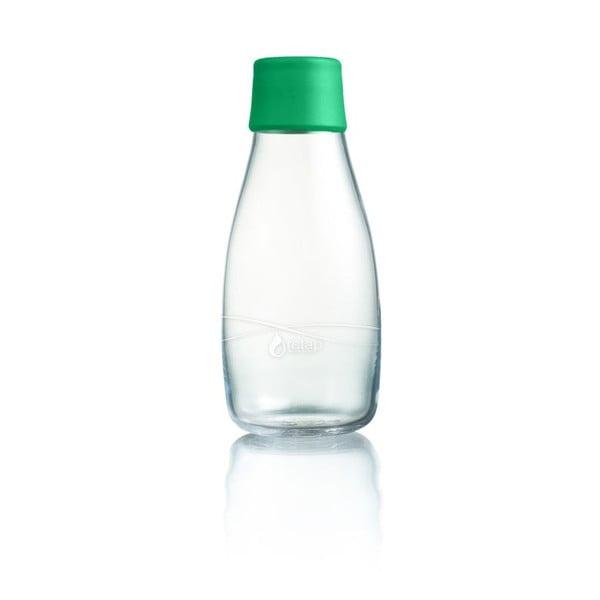 Sýtozelená sklenená fľaša ReTap s doživotnou zárukou, 300ml