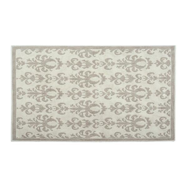 Bavlnený koberec Baroco 100x200 cm, krémový