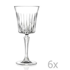 Sada 6 pohárov na sekt RCR Cristalleria Italiana Coco