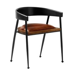 Kožená jedálenská stolička Fuhrhome Sydney