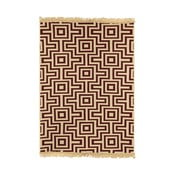 Červený koberec Ya Rugs Kare, 80×150cm