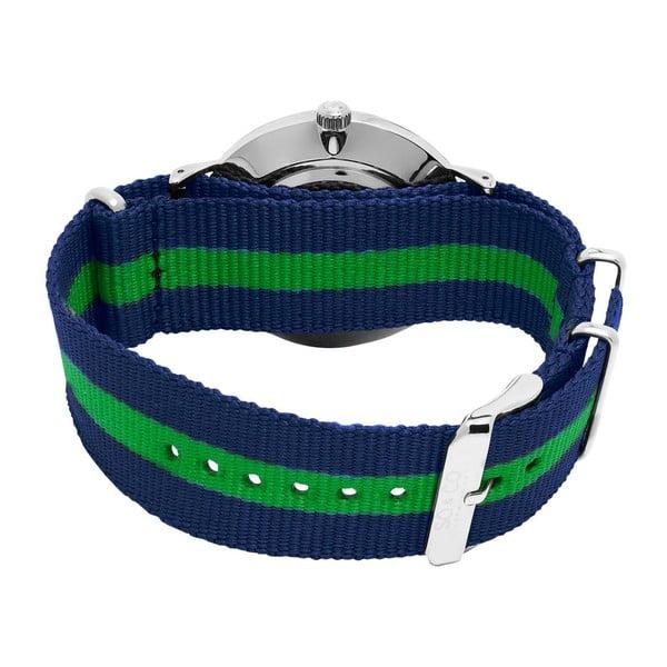 Pánske hodinky Madison Stripe Green/Blue