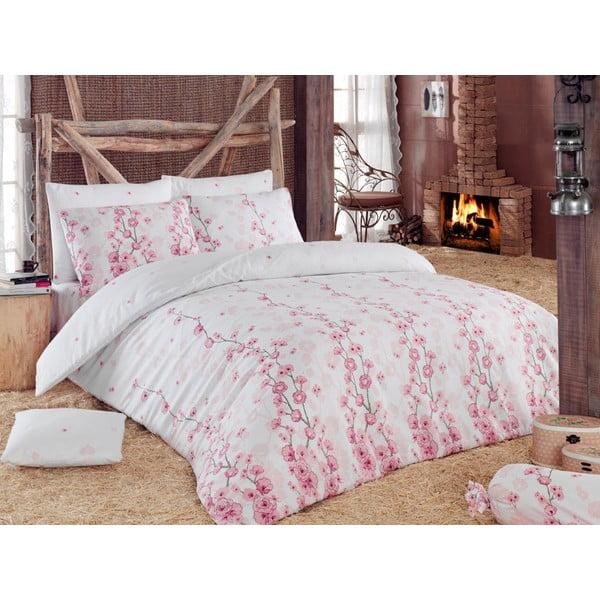 Obliečky s plachtou Coretta Light Pink, 200x220 cm