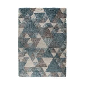 Modro-krémový koberec Flair Rugs Nuru, 80×150 cm