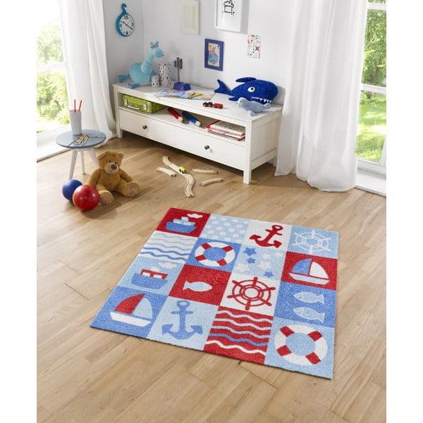 Detský koberec Hanse Home Kiddy Námorník, 100×100cm