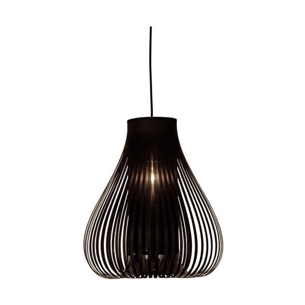 Čierne závesné svietidlo Scan Lamps Jolly