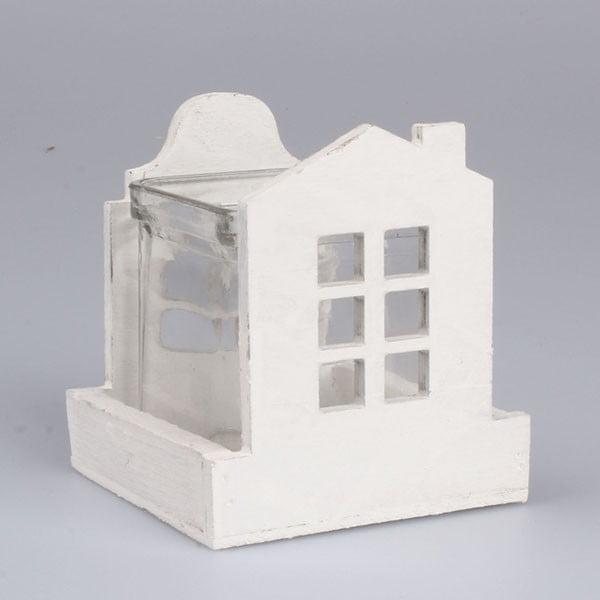 Biely svietnik Dakls Home