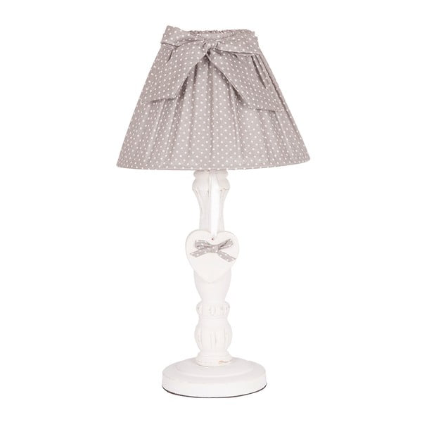 Stolná lampa Grey Bow