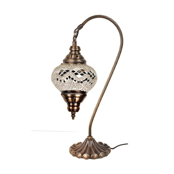 Sklenená lampa Fishing V, 13 cm
