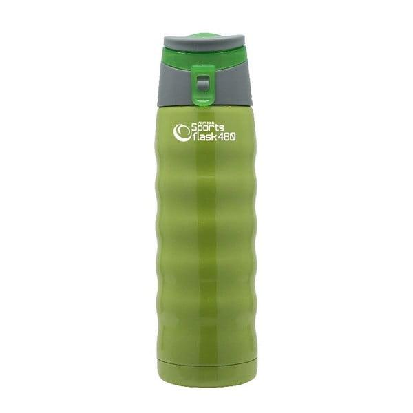 Zelená športová fľaša Pioneer, 480 ml