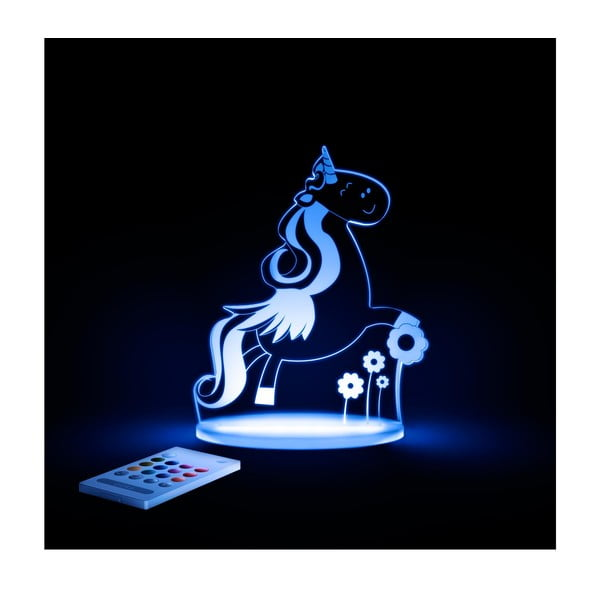 Detské LED nočné svetielko Aloka Unicorn