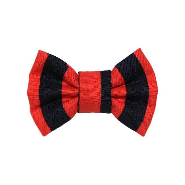 Červeno-Čierny charitatívny psí motýlik Funky Dog Bow Ties, veľ. S