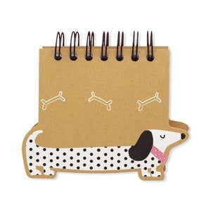 Blok GO Stationery Sausage Dog