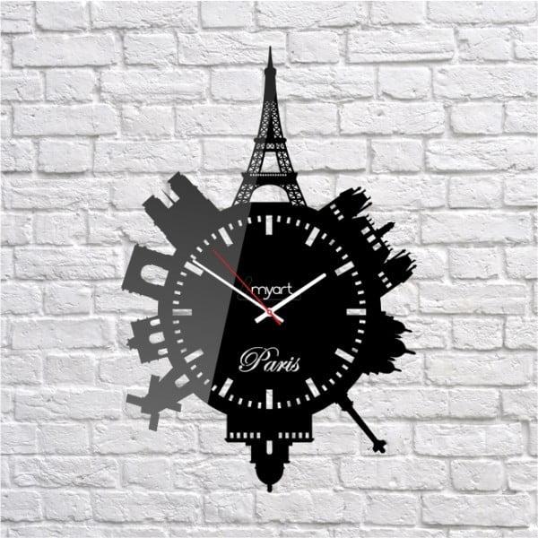 Nástenné hodiny Paris France