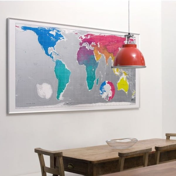 Mapa sveta The Future Mapping Company Huge Future Map, 196 × 100 cm