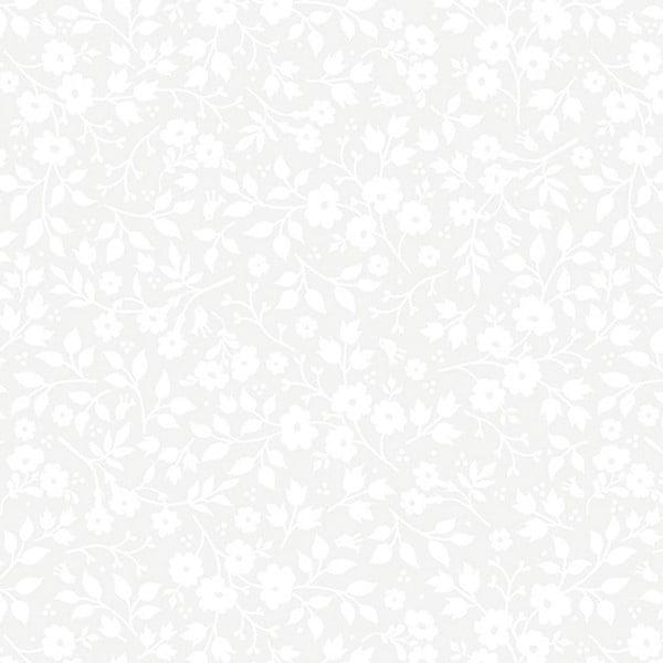 Tapeta Pip Studio Brian Yates, 0,52x10 m, biela