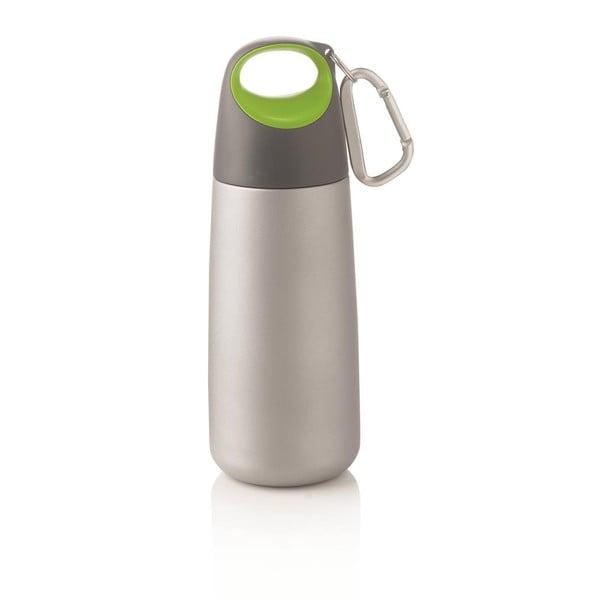 Fľaša Mini Bopp s karabínkou, zelená