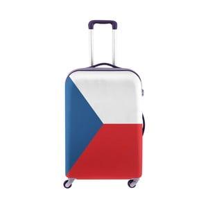 Obal na kufor Oyo Concept Česká vlajka, 67×43cm