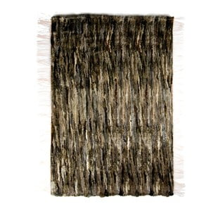 Koberec z ovčej kože 100x160 cm, tmavý