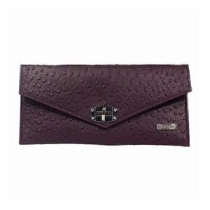 Tmavofialová listová kabelka Dara bags Malibu Classy No.3