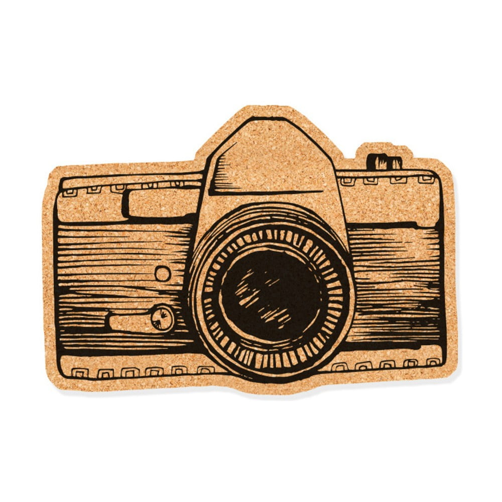 11e414b702 Korková dekoratívna nástenka Really Nice Things Camera