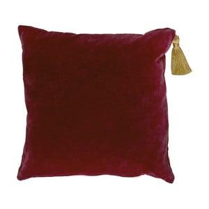 Vankúš Miss Étoile Gold Tassel Bordeaux, 50 x 50 cm